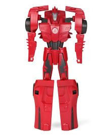 Funskool Titan Changers Transformers Robot Toy - Red