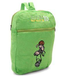 Tickles Ben 10 Magical Power Soft Toy Bag Green - 34 cm