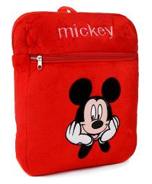 Tickles Mickey Mouse Plush Bagpack Red - 13 Inches