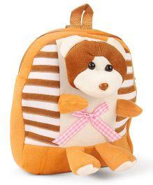 Tickles Monkey Backpack Brown Orange - 28 cm