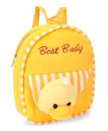 Tickles Best Baby Duck Backpack Yellow - 30 cm