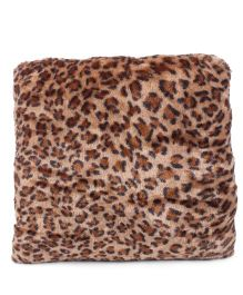 Tickles Leopard Print Cushion - Beige