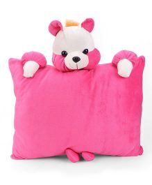 Tickles Teddy Cushion - Pink