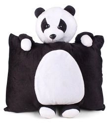 Tickles Panda Design Plush Cushion - Black And White
