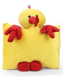 Tickles Chick Design Cushion - Yellow