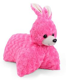 Tickles Rabbit Design Convertible Cushion - Pink