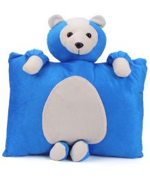 Tickles Teddy Cushion - Blue