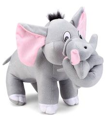 Tickles Mother Elephant With One Baby Stuffed Soft Plush Toys - 12.5 Inches