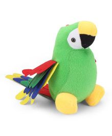 Tickles Parrot Soft Toy - Green