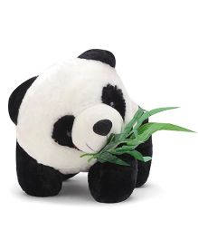 Tickles Soft Toy Cute Panda With Leaves - 15 inch