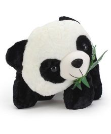 Tickles Soft Toy Panda Eating Leaves - 18 inch