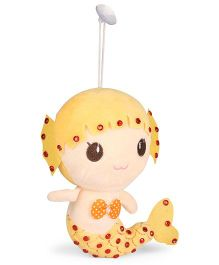 Tickles Mermaid Soft Toy Yellow - 7 inch
