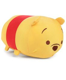 Tickles Pooh Soft Toy Yellow And Red - 7 Inches