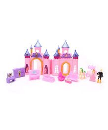 Smiles Creation Foldable Castle With Accessories (Color of may Vary)