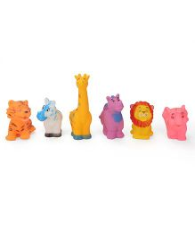Smiles Creation Animals Bath Toys Pack of 6 - Multi Color