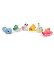 smiles creation Squeaky Sea Life Bath Toys - Set of 6