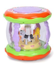 Playmate Merry-Go-Round With Drum