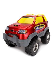Luvely Macs Fortune Suv 4 x 4 Car Toy - Red