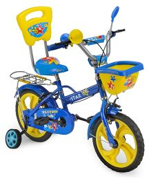 BSA Star Bicycle Blue And Yellow - 14 Inches