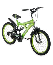BSA Cybot Sports Bicycle Green And Black - 20 Inches