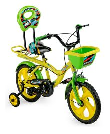 BSA Rocky Bicycle Yellow And Green - 14 Inches