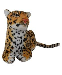 O Teddy Cute Soft Toy Leopard Brown - 3 inches