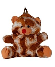 O Teddy Special Soft Toy Bag Brown & White - 6 Inches