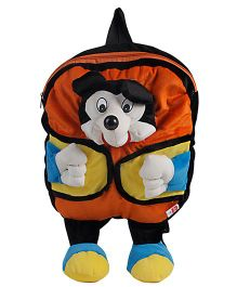 O Teddy Soft Mickey Backpack - Orange