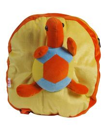 O Teddy Turtle Back Pack - Yellow And Orange
