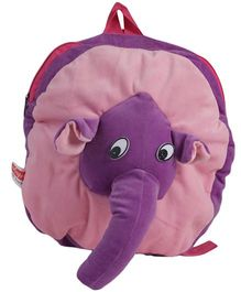 O Teddy Elle Back Pack - Pink And Purple