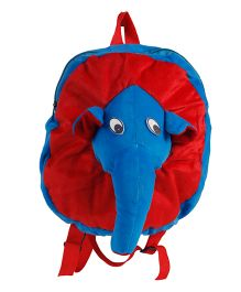 O Teddy Elle Back Pack - Blue And Red