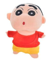 Kuhu Creation Shin Chan Jumbo Soft Toy Red & Yellow - 8 inches
