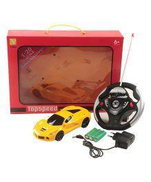 Magic Pitara High Speed Radio Control Racing Car - Yellow