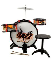 Magic Pitara Rock Jazz Drum Set - 4 Combo Pieces