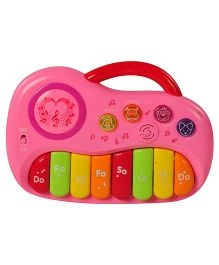 Magic Pitara Play & Learn Piano - Pink