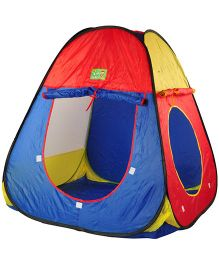 Magic Pitara Toy Tent - Blue Red Yellow