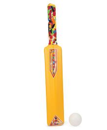 Luvely Bat And Ball Set - Yellow And White