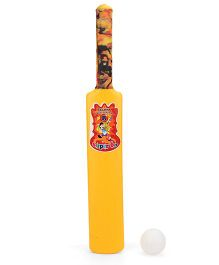 Luvely Bat And Ball Set - White And Yellow