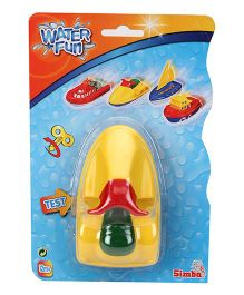 Simba World of Toys Boat Toy - Yellow