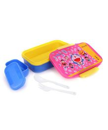 Doraemon Insulated Lunch Box - Pink & Blue