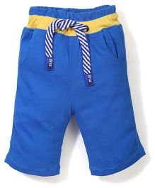 Play by Little Kangaroos Three Fourth Pants - Blue