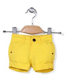 Vitamins Solid Colour Shorts - Yellow