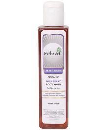 Rustic Art Organic Blueberry Body Wash - 200 ml