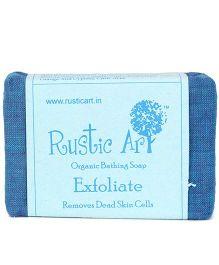 Rustic Art Organic Exfoliate Soap - 100 gm