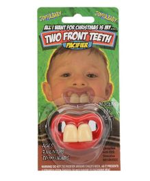 Joyful Baby Two Front Teeth Pacifier - Multicolor