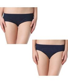 Adira Cotton Period Panty Combo Multicolor - Pack Of 2