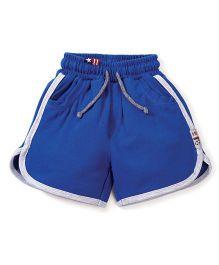 Spark Shorts With Drawstring - Royal Blue