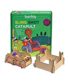 Smartivity Sling Shot Catapult Activity Set - Multicolor