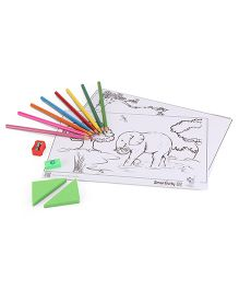 Smartivity Edge Jungle Safari 3D Colouring Sheets