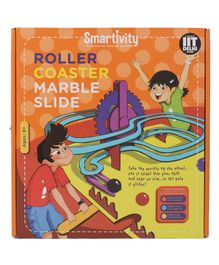 Smartivity Roller Coaster Marble Slide STEM Educational DIY Toy - Multicolor